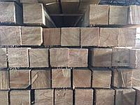 Лиственница Сибирская брус 45х45х3000 строганный, сухой, лаги для террасной палубной доски, фото 1