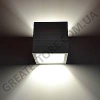 Настенный гипсовый светильник, бра Gypsum Line - Norwich S1807 B WH (белый, накладной) под лампу G9