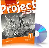 Project 4th edition 1, Workbook+CD+Online / Тетрадь к учебнику с диском английского языка
