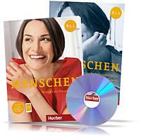 Menschen B1.1, Kursbuch + Arbeitsbuch / Учебник + Тетрадь (комплект с дисками) немецкого языка