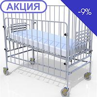 Кровать функциональная детская в комплекте с матрасом Промед КФД-01