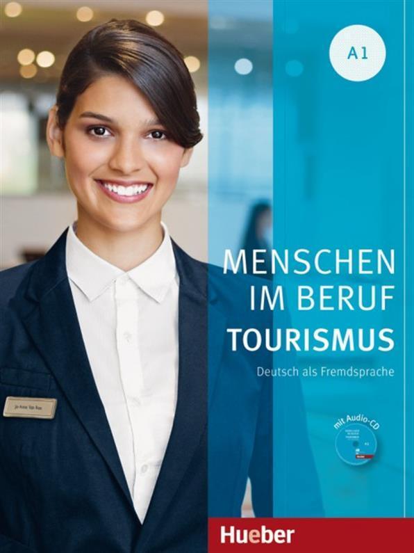 Menschen im Beruf A1, Tourismus, Kursbuch + CD / Учебник с диском немецкого языка