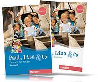 Paul, Lisa & Co Starter, Kursbuch + Arbeitsbuch / Учебник + Тетрадь (комплект) немецкого языка
