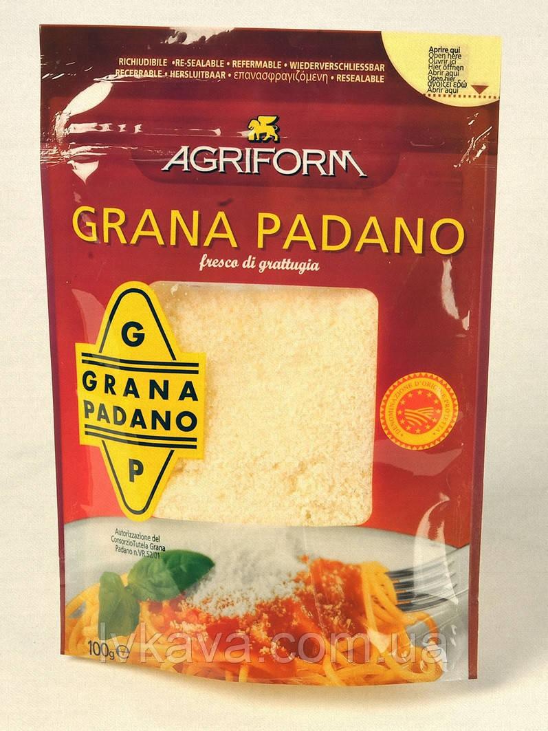Сыр тертый Agriform  Grana Padano  , 100 гр