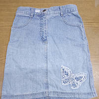 Джинсовая юбка (голубая), фото 1