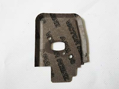 Прокладка патрубка и блока мотокосы Stihl FS 55
