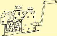 Инструмент (станок)  для выравнивания оцинкованного, алюминиевого или медного прута