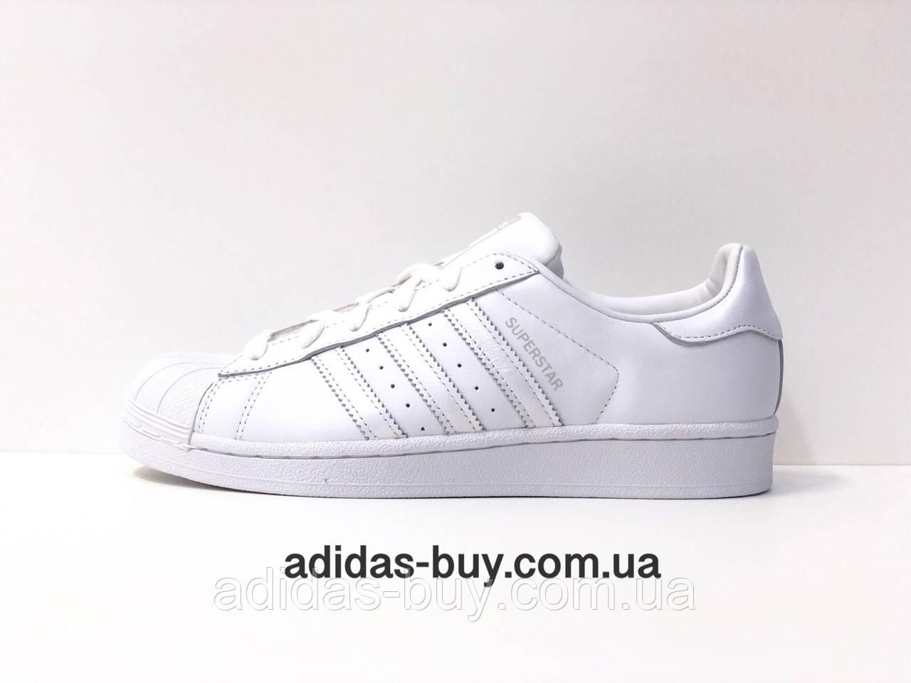 81e85a3ad Кроссовки кеды adidas оригинал SUPERSTAR AQ1214 женские повседневные из  кожи цвет:белый сезон:весна