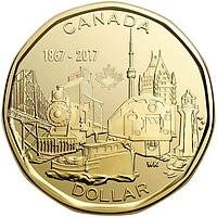 Канада - Canada 2017 г. $1 доллар UNCIRCULATED