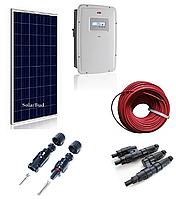 """Комплект мережевої сонячної електростанції 20 кВт  """"econom"""", фото 1"""