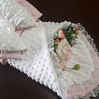 Конверт-плед для новорожденных (демисезонный ), фото 1