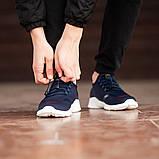 Мужские кроссовки South Deimos NAVY, легкие классические синие кроссовки на лето, фото 3