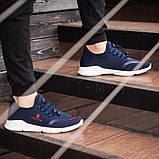 Мужские кроссовки South Deimos NAVY, легкие классические синие кроссовки на лето, фото 4