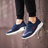 Мужские кроссовки South Deimos NAVY, легкие классические синие кроссовки на лето, фото 7