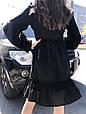 Платье женскоее  черное ажурное, фото 3