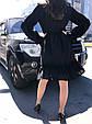 Платье женскоее  черное ажурное, фото 5
