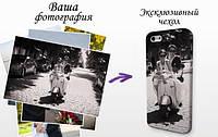 Пластиковый чехол с любым изображением для iPhone 4, 4s