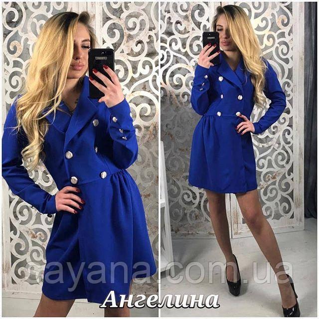 модное платье-пиджак