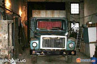 Продам в рабочем состоянии грузовой автомобиль ГАЗ-3307Газ-метан 7 баллонов.Борт с металлической будкой.