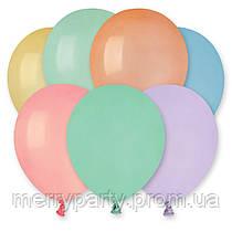 """5"""" (13 см) пастель Macaron Gemar Италия латексный шар"""