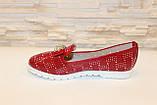 Туфли женские красные лаковые код Т245, фото 2