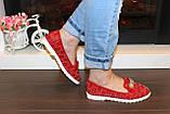 Туфли женские красные лаковые код Т245, фото 3