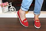 Туфли женские красные лаковые код Т245, фото 4