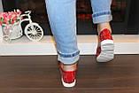 Туфли женские красные лаковые код Т245, фото 6