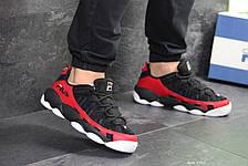 Мужские кроссовки Fila Heritage Studio Spaghetti,черные с красным 42,44р, фото 2