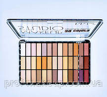 Палітра тіней для повік від фірми Dodo Girl. 39 кольорів.