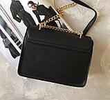 Сумка клатч женская черная код 7-7015, фото 2