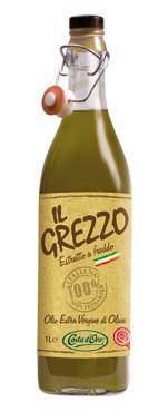 Оливковое масло нефильтрованное IL Grezzo Costa d'Oro Extra Vergine 0.75 л., фото 1
