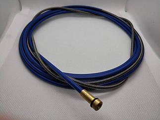 Спираль подающая стальная синяя 1,5/4,5/540см, 124.0015, для проволоки D 0,8 - 1,0 мм, 124.0015A, A-Weld
