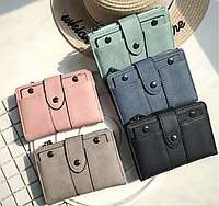 Женский кошелек Mini W. 5 модных цветов. Стильный и удобный