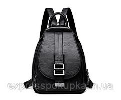 Модный, стильный и надежный Женский Рюкзак   2 ЦВЕТА Черный