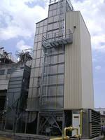 Стационарные шахтные зерносушарки STELA, модель MDB-XN 2/10-R
