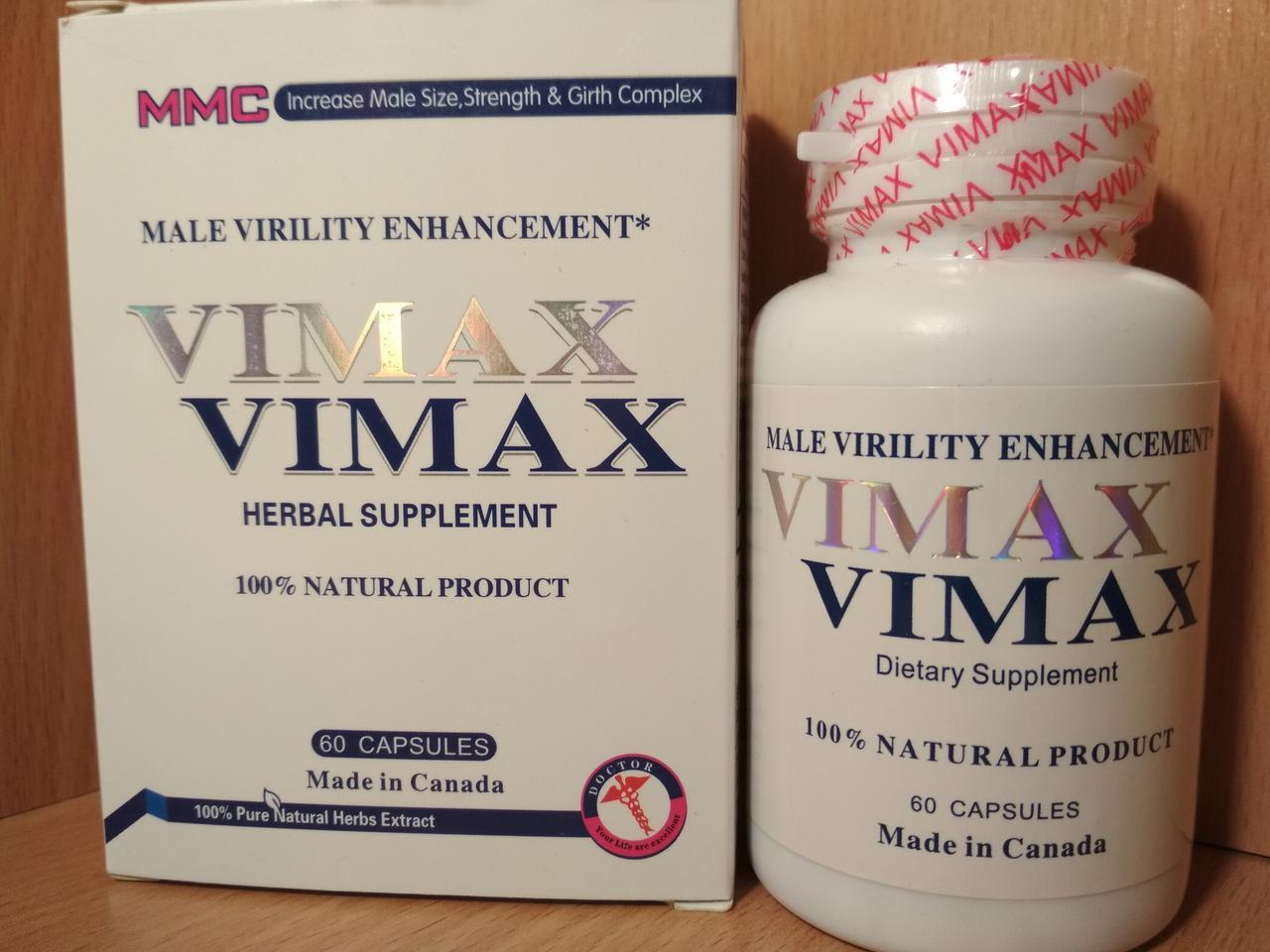 Вимакс таблетки для мужчин