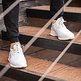 Мужские кроссовки South Fresh White, легкие классические белые кроссовки на лето, фото 3