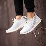Мужские кроссовки South Fresh White, легкие классические белые кроссовки на лето, фото 4