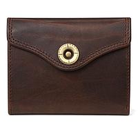 Мужской портмоне из натуральной кожи Desigual. Высочайшее качество и стиль. Темно-коричневый.