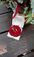 Деревянная коробочка для свадебных колец