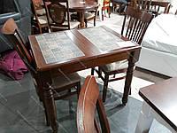 Стол кухонный с керамической плиткой Кантри 2 TILE 2  90 , Top