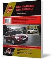 Kia Carens / Kia Rondo c 2006 года  - Книга / Руководство по ремонту