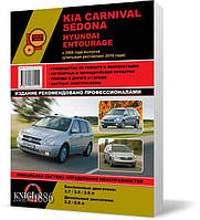 Kia Carnival / Sedona и Hyundai Entourage с 2006 года  - Книга / Руководство по ремонту