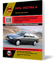 Opel Vectra A с 1988 по 1995 гг.  - Книга / Руководство по ремонту