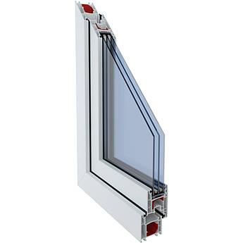 Металопластикове вікно з профілю LWS 3