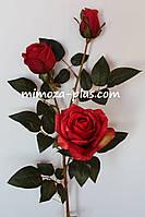 Искусственные цветы - Роза ветка