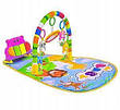 Детский развивающий коврик с пианино и подвесками, со звуковыми эффектами, Huanger HE0612/ 0613, фото 6