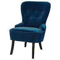 IKEA REMSTA Кресло, Джупарп зеленый и синий Циемнозиелонониебиески  (603.447.59), фото 1