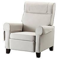 IKEA MUREN Раскладное кресло, Нордвалла бежевый  (902.990.29), фото 1